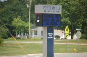 PowdersvillehighSchoolSign