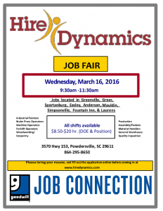 Download Hire Dynamics March 16 Job Fair pdf file HERE
