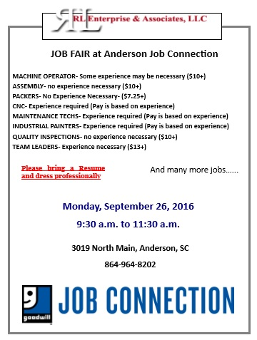 RL Enterprise Job Fair Sept 26